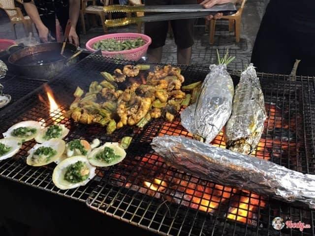 Chợ hải sản đêm ở Vũng Tàu