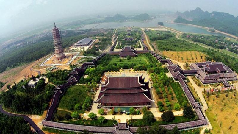 Chùa Bái Đính - điểm du lịch tâm linh thu hút tại Ninh Bình