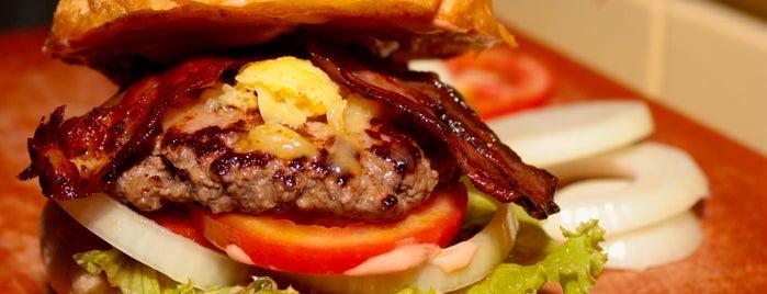 Chuck's BBQ, Hamburger