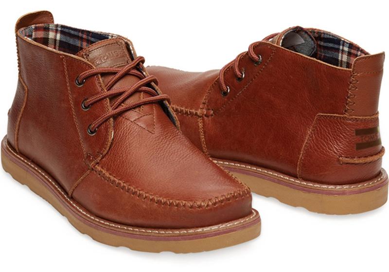 Chukka là kiểu giày bốt dành cho nam