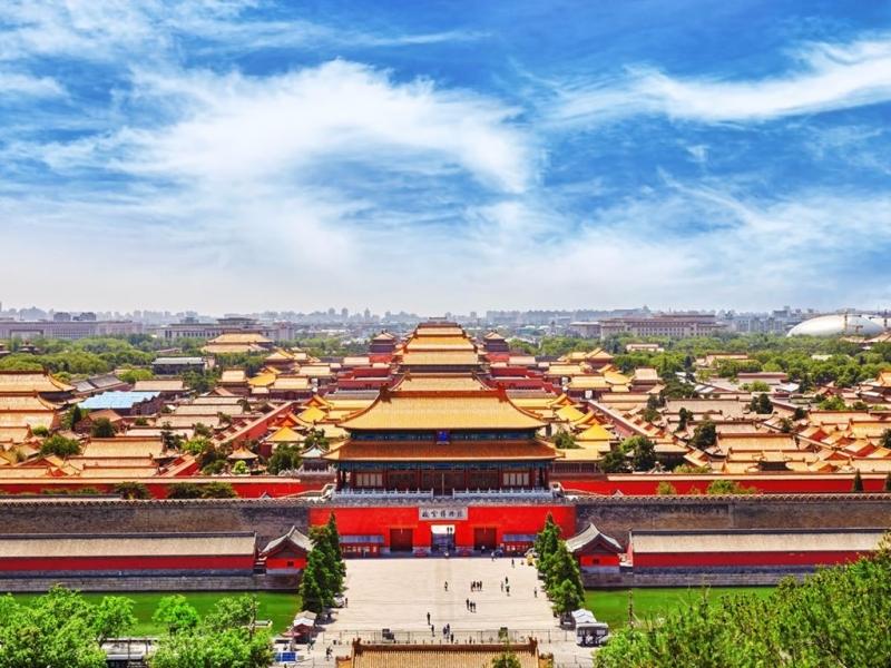 Tử Cấm Thành có nét giống với kiến trúc Đại Việt ngày xưa.