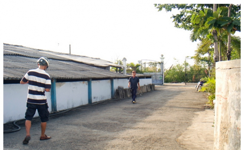 Cơ sở sản xuất sạch đẹp, vệ sinh