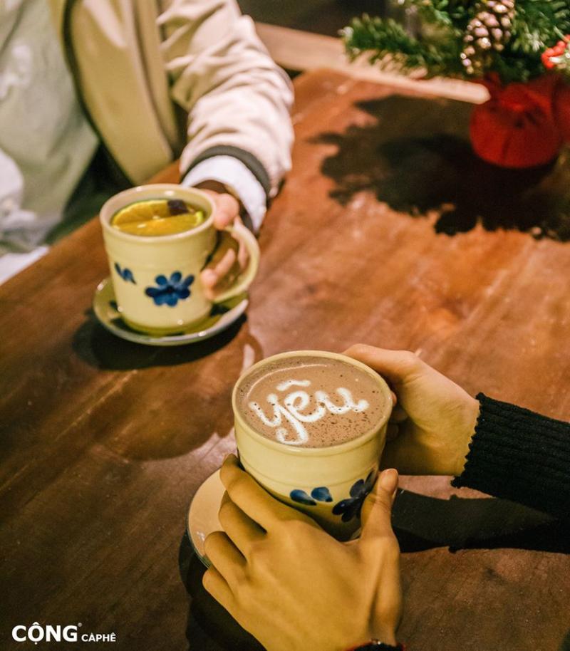 Thức uống hấp dẫn tại Cộng cà phê