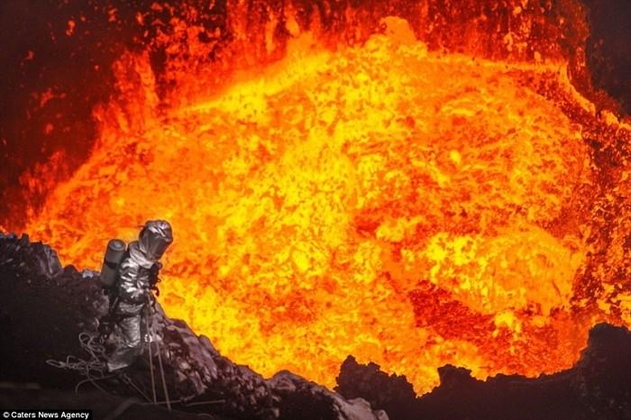 Cổng địa ngục ở Turkmenistan