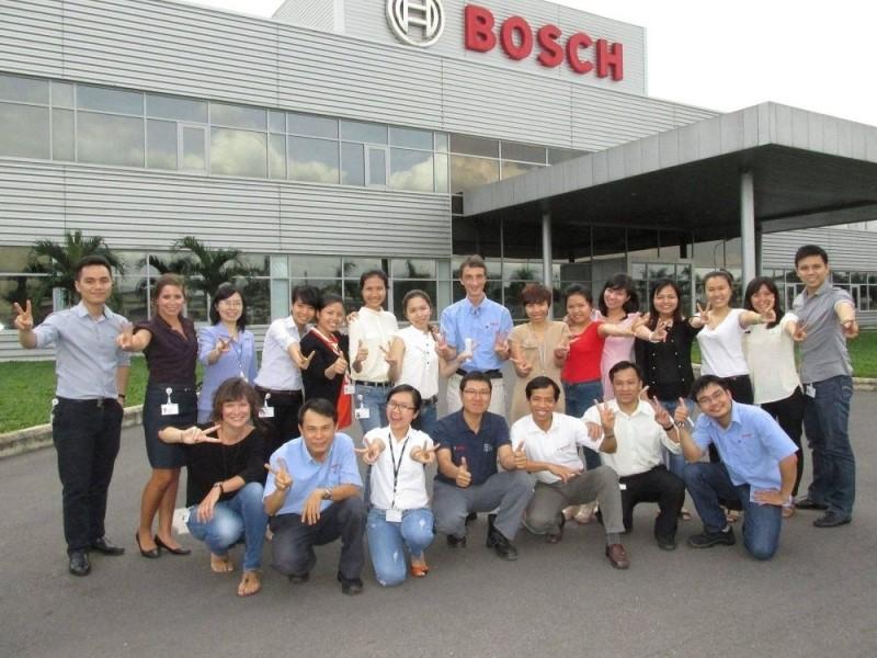 Nhân viên tại Bosch