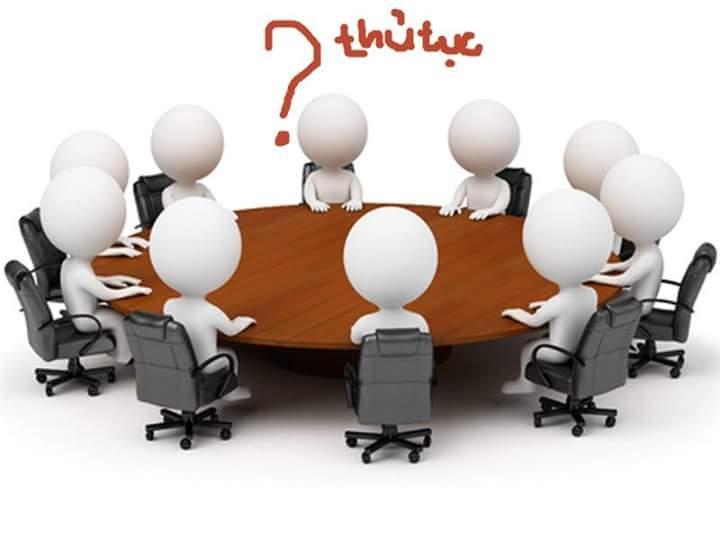 Công ty đại diện khách hàng khi làm các thủ tục pháp lí với cơ quan nhà nước