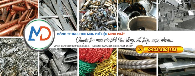 Thu mua phế liệu giá cao Minh Phát