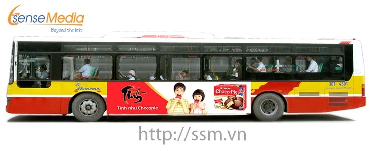 Công ty cung cấp những mẫu dịch vụ quảng cáo trên xe bus