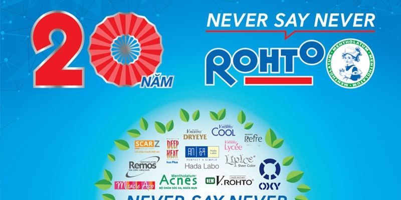 Rohto - 20 năm phát triển