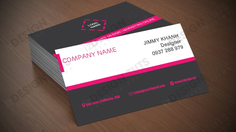 Thiết kế name card
