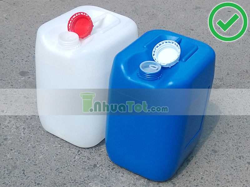 Can nhựa 20L trắng,xanh_ sản phẩm Nhựa Tốt