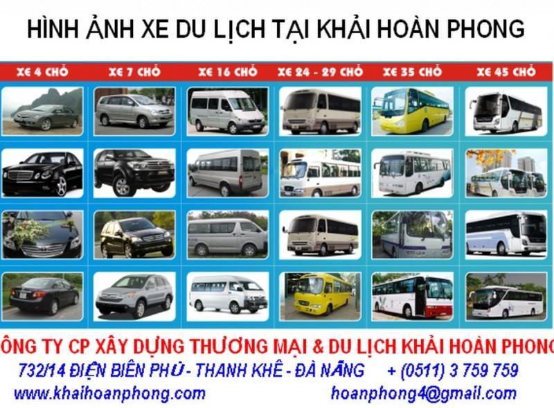 Hình ảnh xe du lịch tại Khải Hoàn Phong