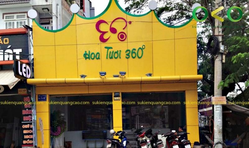 Cửa hàng hoa tươi 360