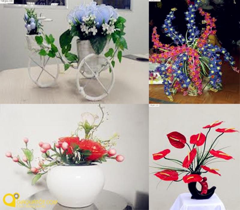 Các mẫu hoa tại cửa hàng hoa nhựa Lê Nam