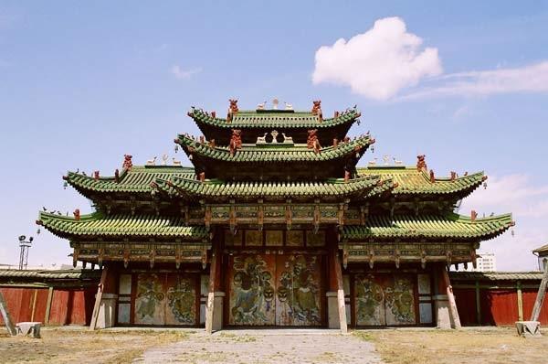 Cung điện Mùa Đông ở Mông Cổ