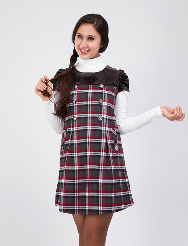Váy dạ đông cho người mập