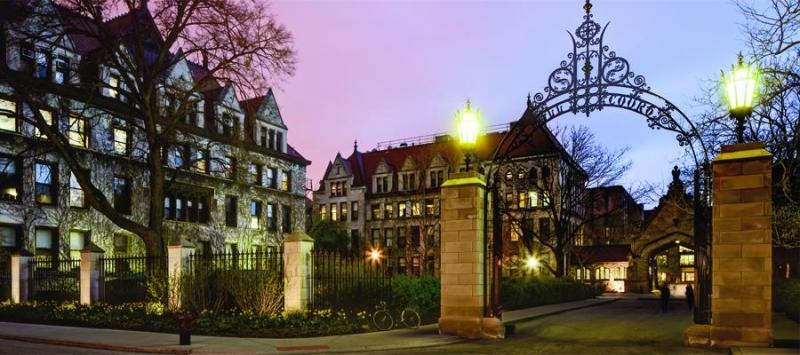 Chiều tối tại Đại học Chicago