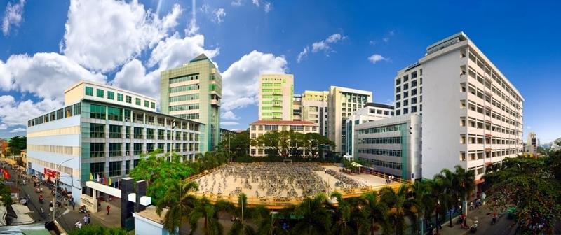 Toàn cảnh của trường Đại học Công nghiệp TP.Hồ Chí Minh_Cơ Sở Thanh Hóa