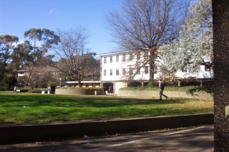 Một góc sân trường ANU