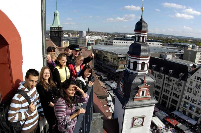 Du học sinh tại trường Đại học tổng hợp kỹ thuật Chemnitz