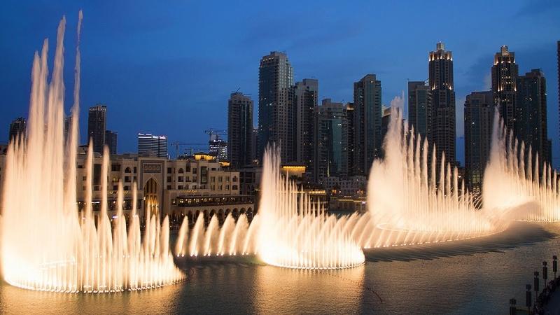 Đài phun nước Dubai - Ấn Độ