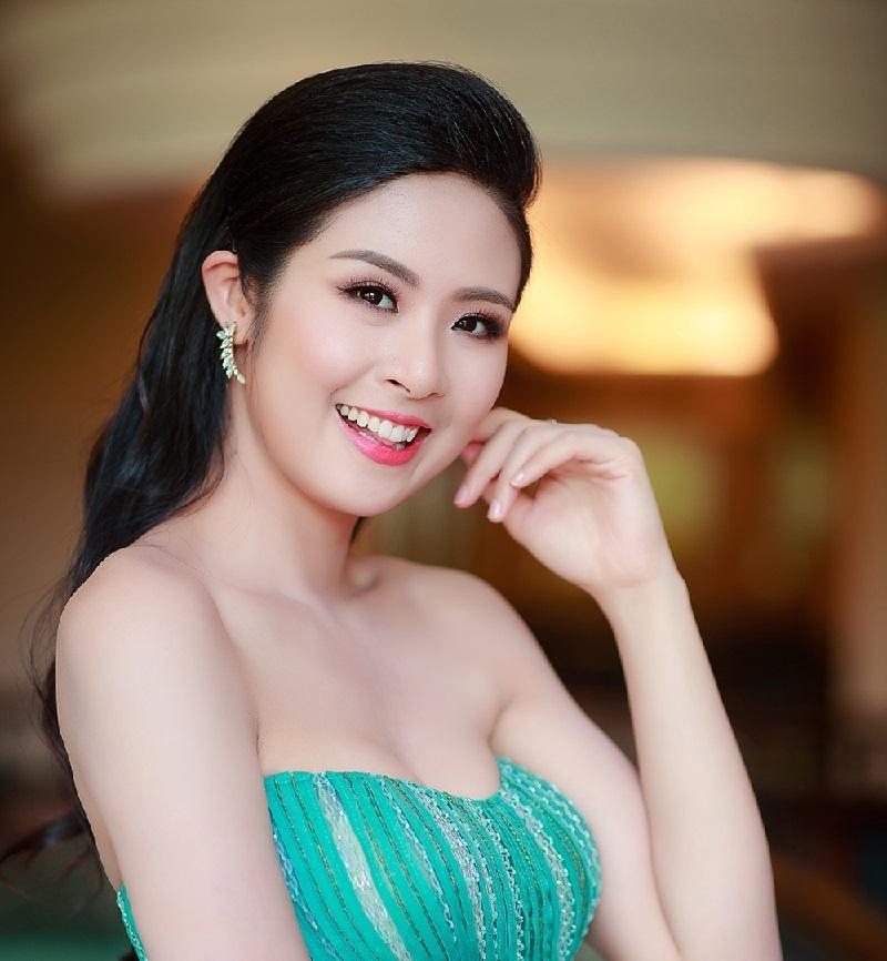 Hoa hậu Việt Nam Đặng Thị Ngọc Hân