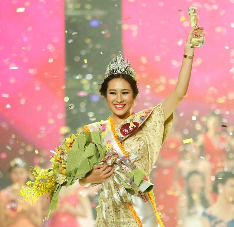 Vẻ đẹp tỏa sáng trong các cuộc thi hoa hậu