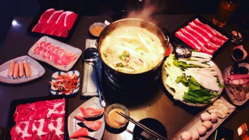 Buffet lẩu Nhật