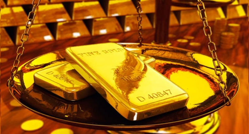Đất nước thích phủ vàng lên mọi thứ