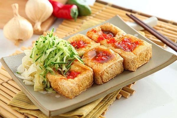Món đậu hũ thúi nổi tiếng vô cùng ở Đài Loan