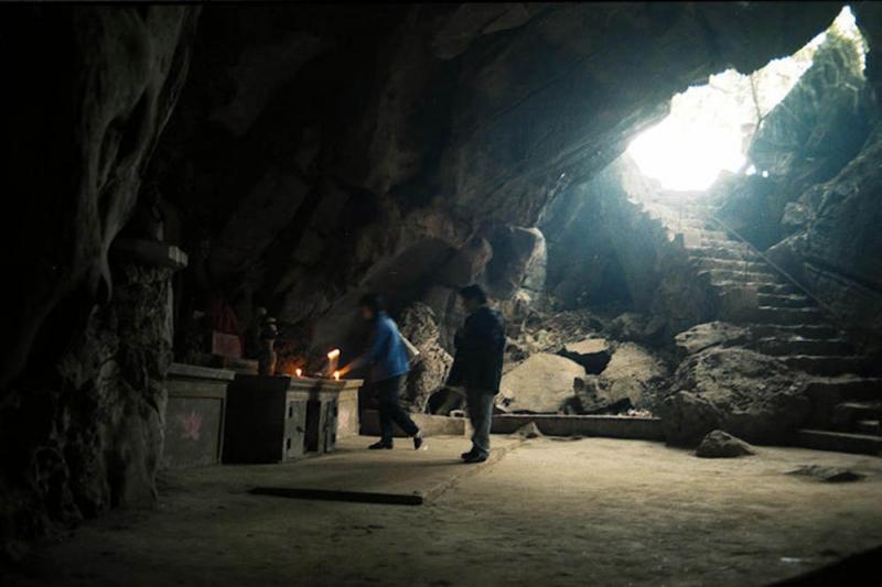 Hình ảnh một hang động trong Ngũ Động Sơn