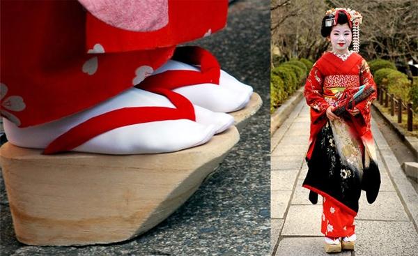 Giày Okobo của Nhật Bản