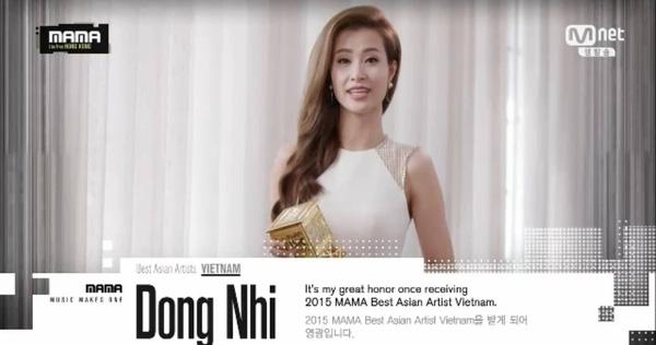 Cô ca sĩ trẻ đã nhận được giải thưởng quốc tế danh giá trong sự nghiệp ca hát của mình.