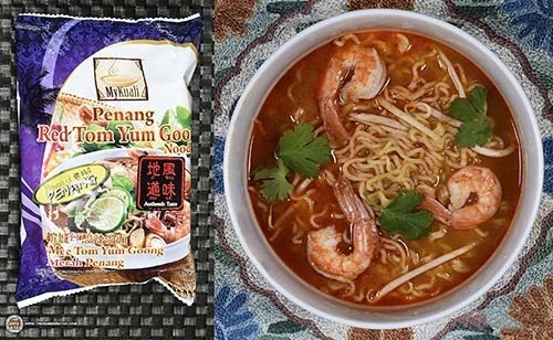 Mỳ MyKuali Penang Red Tom Yum Goong Authentic Taste – Malaysia