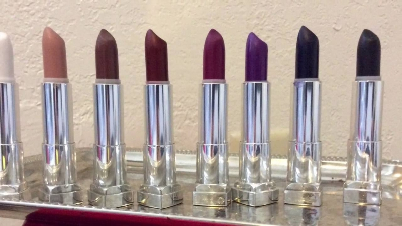 Các loại màu Son Maybelline Color Sensational The Loaded Bolds