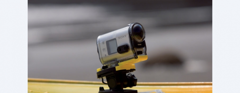 AS100V Action Cam with Wi-Fi & GPS