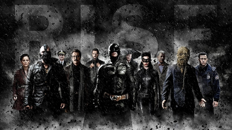 Bộ phim The Dark Knight Rises
