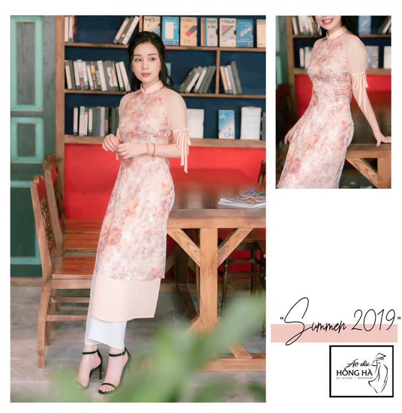 Mẫu áo dài trong bộ sưu tập Summer 2019