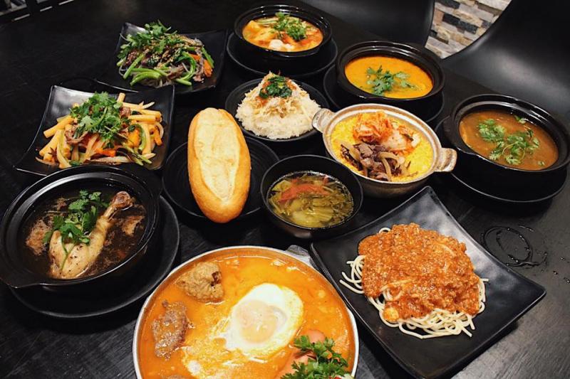 Những món ăn hấp dẫn tại Bami lu