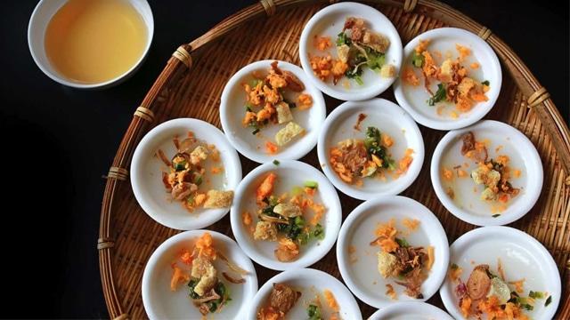 Bánh bèo Chợ Hàng Bông