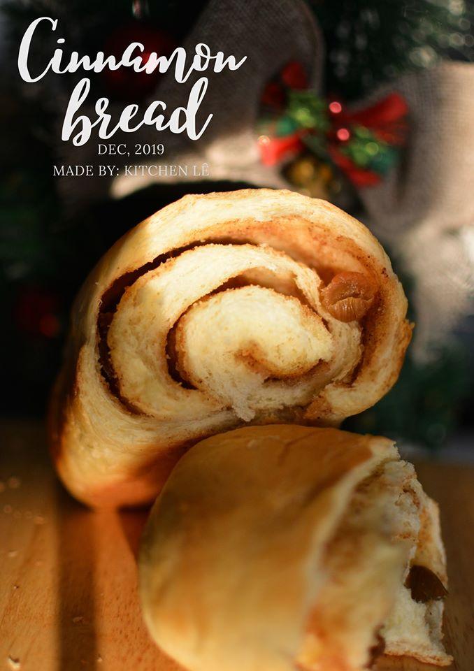 Bánh mỳ nho quế hấp dẫn!