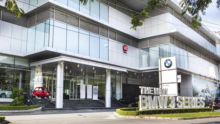 Trung tâm BMW Phú Mỹ Hưng