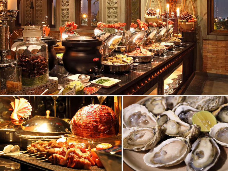 Buffet Cham Charm Gallery Cuisine
