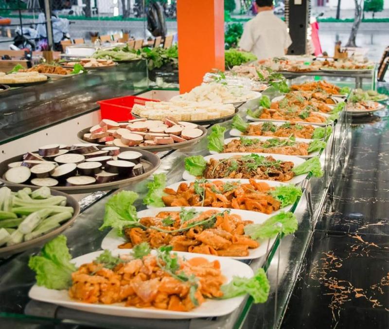 Buffet Lẩu & Nướng Đồng Xoài 90K