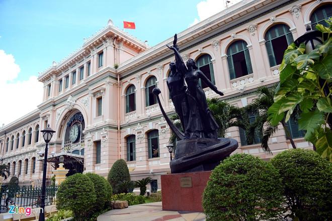 Toà nhà Bưu điện Sài Gòn