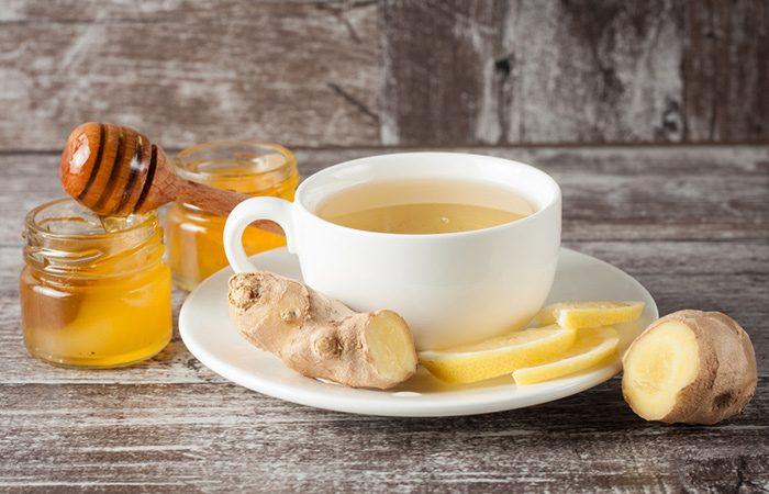 Uống nước gừng mật ong mỗi ngày