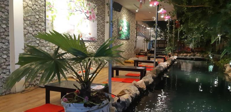 Cafe Cá Koi – Sân Vườn Thôi Kệ