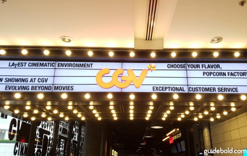 Rạp chiếu phim CGV IPH Hà Nội
