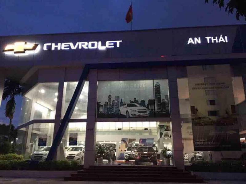 Đại lý Chevrolet An Thái