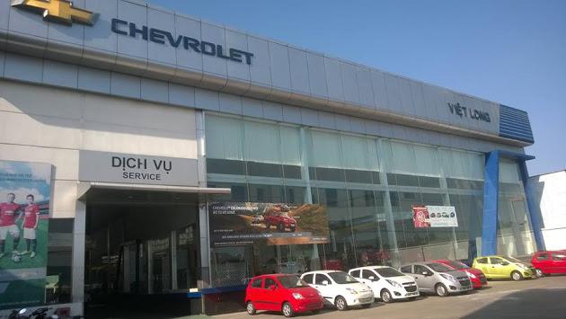 Đại lý Chevrolet Việt Long